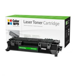 COLORWAY Standard Toner CW-H505/280M, 2700 oldal, Fekete - HP CE505A (05A)/CF280A (80A); Can. 719