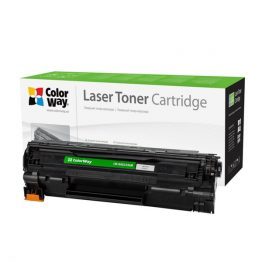 COLORWAY Standard Toner CW-H435/436M, 2000 oldal, Fekete - HP CB435A/CB436A/CE285A; Can. 712/713/725