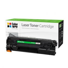 COLORWAY Standard Toner CW-H285M, 1600 oldal, Fekete - HP CE285A (85A); Can. 725