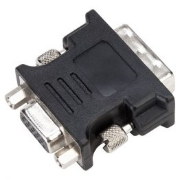 TARGUS Adapter ACX120EUX, DVI-I Male to VGA Female Adapter - Black