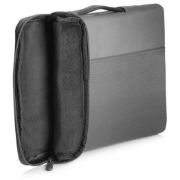 "HP NB 14"" Crosshatch Carry Sleeve, szürke, keresztcsíkos"