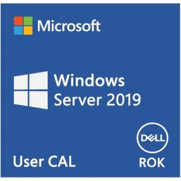 DELL EMC szerver CAL - MS Windows Server 2019, 5 User CAL, ROK, English.