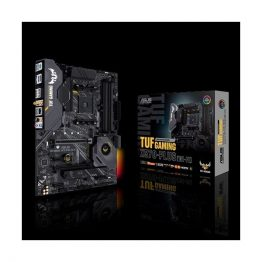 ASUS Alaplap AM4 TUF GAMING X570-PLUS (WI-FI) AMD X570, ATX