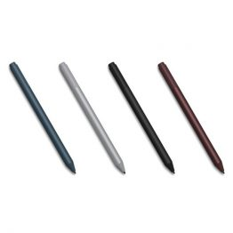 Microsoft Surface Pen v4 - Stylus - Wireless - Bluetooth - Fekete-Charcoal - for Surface Pro, Surface Book