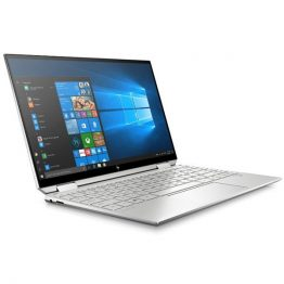"HP Spectre x360 13-aw0000nh, 13.3"" FHD BV IPS Touch, Core i5-1035G4, 8GB, 512GB SSD, Win 10, ezüst"