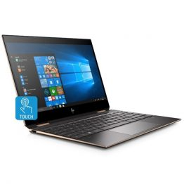 """HP Spectre x360 13-aw0001nh, 13.3"""" FHD BV IPS Touch, Core i5-1035G4, 8GB, 512GB SSD, Win 10, fekete"""