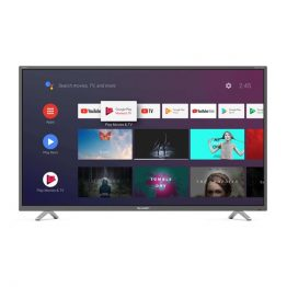 "SHARP 4K ANDROID LED TV 50"", 50BL2EA, 3840x2160 UHD, HDMIx4/USBx3/RF/CI+/Audio out/LAN/SD-Card slot, Harman-Kardon audio"