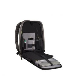 "Samsonite SECURIPAK LAPT.BACKPACK 15.6"" COOL GREY"