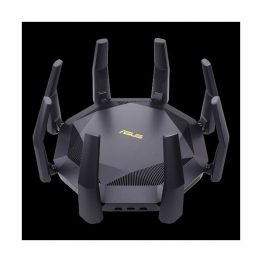 ASUS Wireless Router Dual Band AX6000 1xWAN(10Gbps) + 8xLAN(1000Mbps) + 1xSFP port + 1xUSB, RT-AX89X