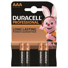 Duracell Professional 4 db AAA