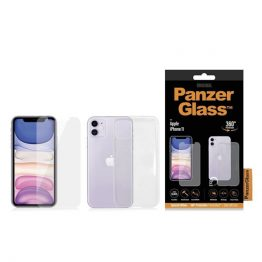 Panzerglass kijelzővédő, Apple iPhone 11 ,+ tok