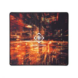 DELTACO GAMING Egérpad GAM-097, DMP 410 Limited Edition Large Mousepad, 450x400x4mm, black with abstract pattern