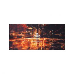 DELTACO GAMING Egérpad GAM-098, DMP 420 Limited Edition X-Large Mousepad, 900x400x4mm, black with abstract pattern