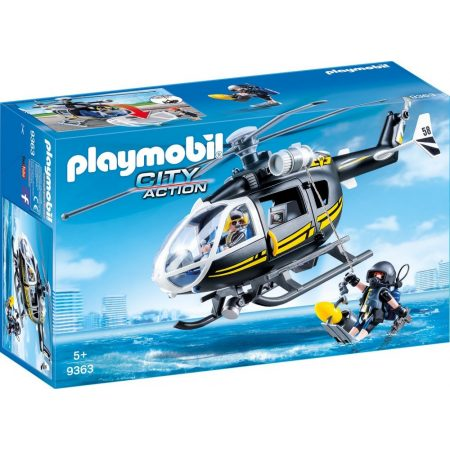 Playmobil City Action - SWAT helikopter (9363)