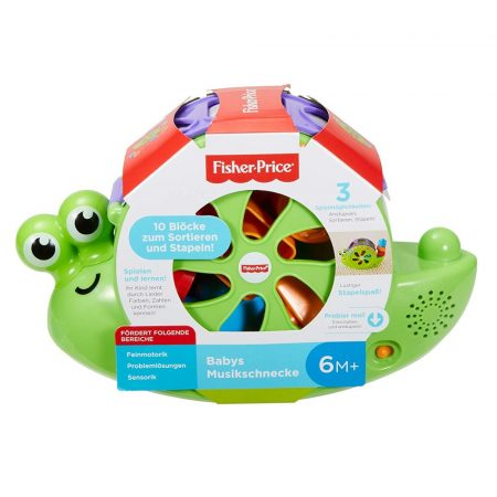 Fisher-Price Zenélő Csigabiga (FRB88)