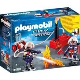 Playmobil City Action - Tűzoltók szivattyúval (9468)
