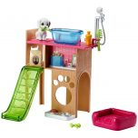 Mattel Barbie DVX50 Pet Station and Puppies Playset
