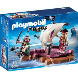 Playmobil Pirates - Kalózok tutajon (6682)