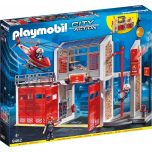 Playmobil City Action - Tűzoltóság helikopterrel (9462)