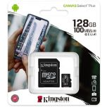 Kingston microSDHC 128GB C10/UHS-I SDCS2/128GB +adapter